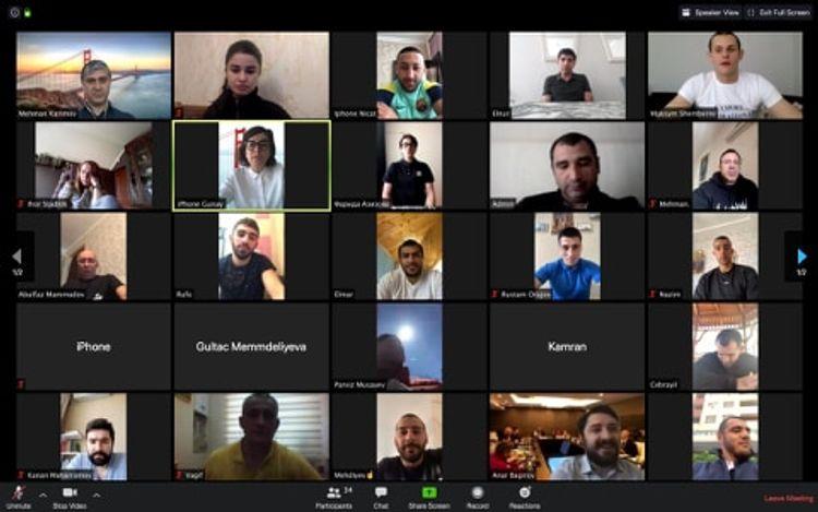 MOK idmançılar və federasiya rəsmiləri ilə videokonfrans təşkil edib