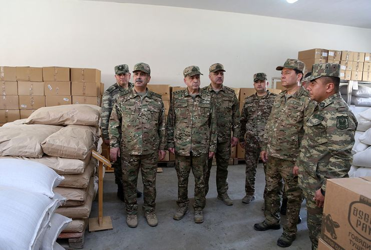 Azerbaijan's MoD: Combat capability of the weapons and military equipment of military units in frontline zone checked  - <span class='red_color'>VIDEO</span>