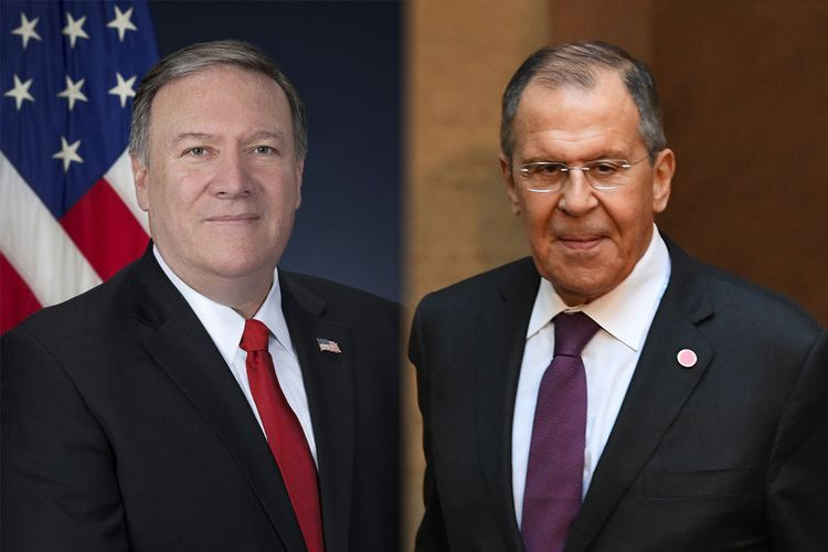 Pompeo and Lavrov held telephone conversation