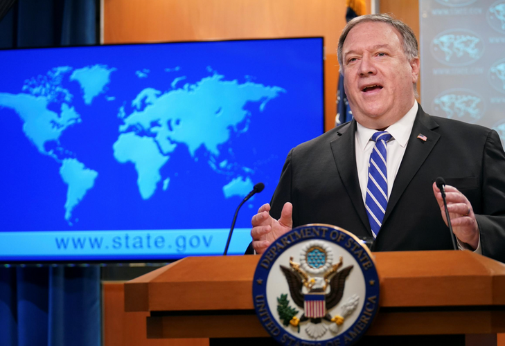 Pompeo delays Hong Kong report to see if China acts to