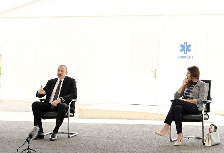 """Azərbaycan Prezidenti: """"Kasıbın malına, ərzaq payına göz dikən xaindir, bunun başqa adı yoxdur"""""""