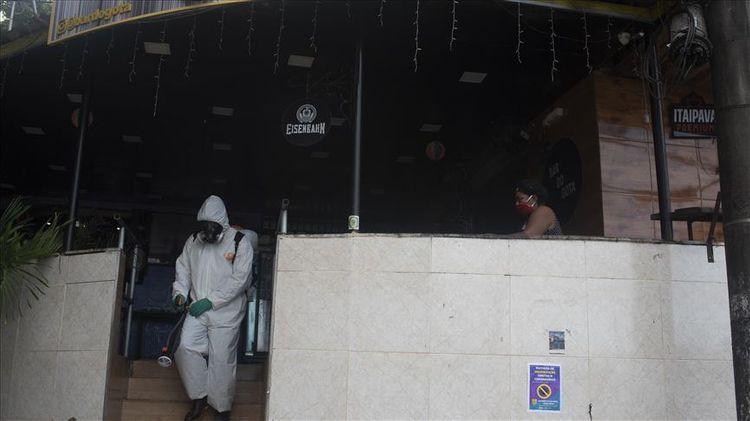 Coronavirus death toll in Brazil nears 10,000