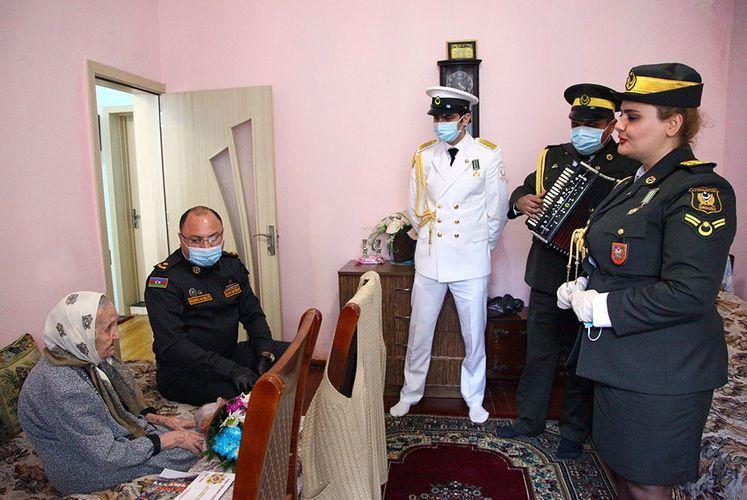 Böyük Vətən müharibəsi veteranları ziyarət olunub - FOTO - VİDEO