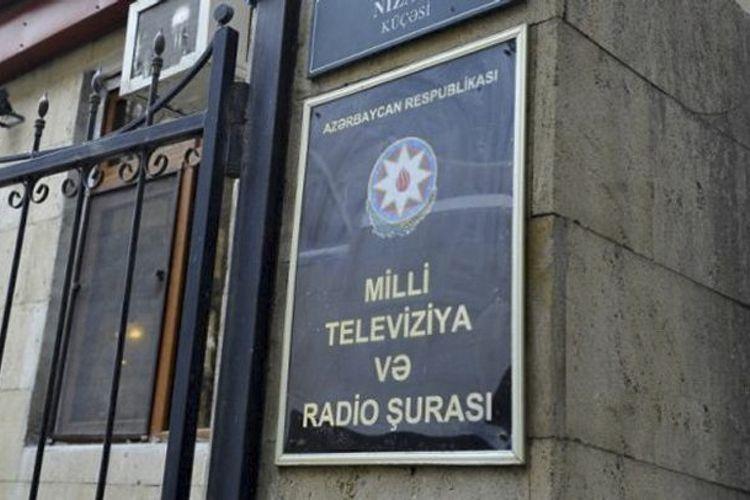 """MTRŞ: """"Space"""" TV-nin yayımı 1 saatlıq dayandırılacaq, AzTV ilə bağlı məhkəməyə müraciət olunub"""