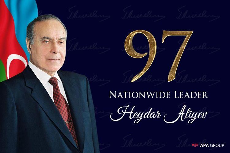 Azerbaijan marks 97th birthday anniversary of Nationwide Leader Heydar Aliyev