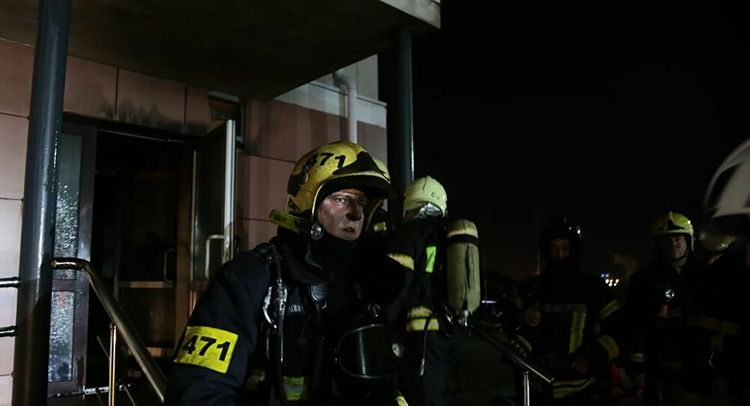 At least nine dead in fire at Moscow region hospice