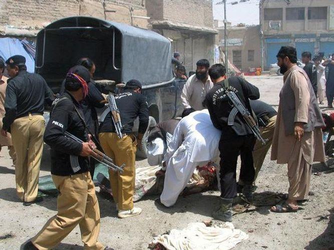 Five injured in a blast in Peshawar, Pakistan