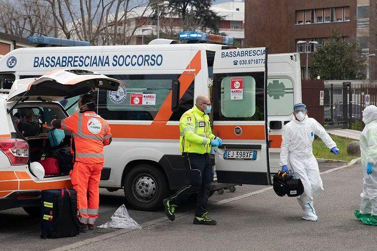 İtaliyada koronavirusa yoluxanların sayı 220 mini keçib