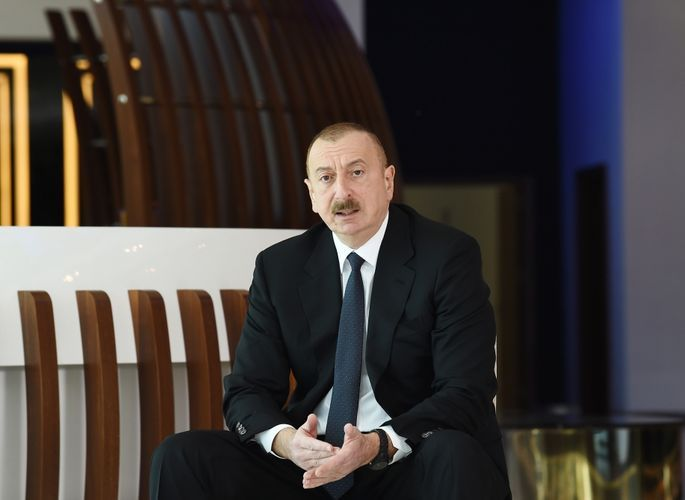 """President Ilham Aliyev: """"We have placed our most modern hospitals at the disposal of patients with coronavirus"""""""