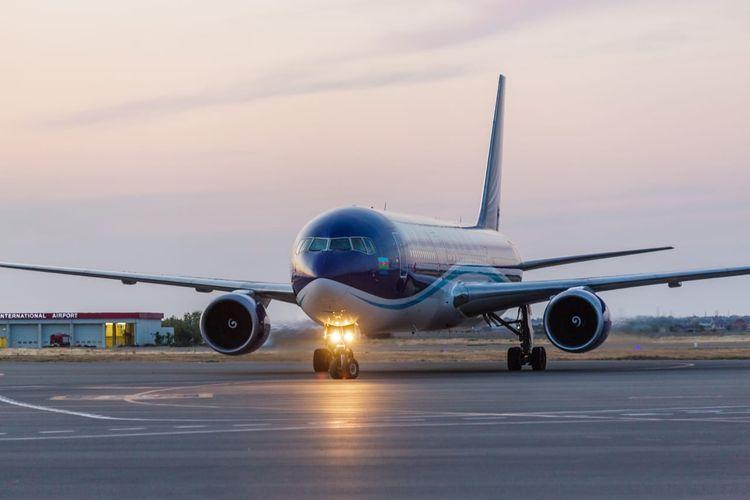 AZAL performed a charter flight from Kiev to Baku bringing 197 citizens back to Azerbaijan