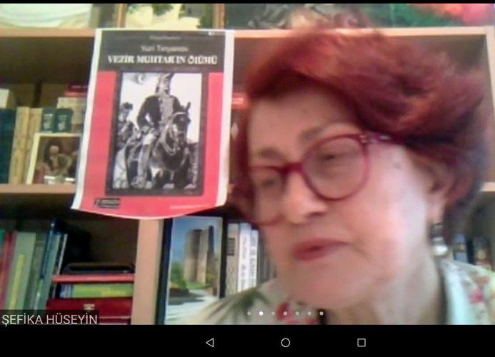 """""""Vəzir Muxtarın ölümü"""" kitabının Türkiyədə təqdimatı olub"""