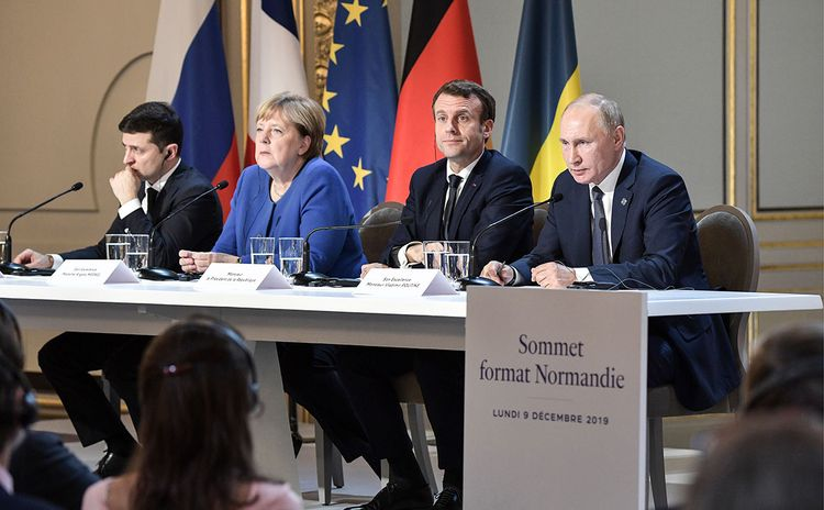 France, Germany support idea to hold Normandy Summit when pandemic slows down, says Zelensky