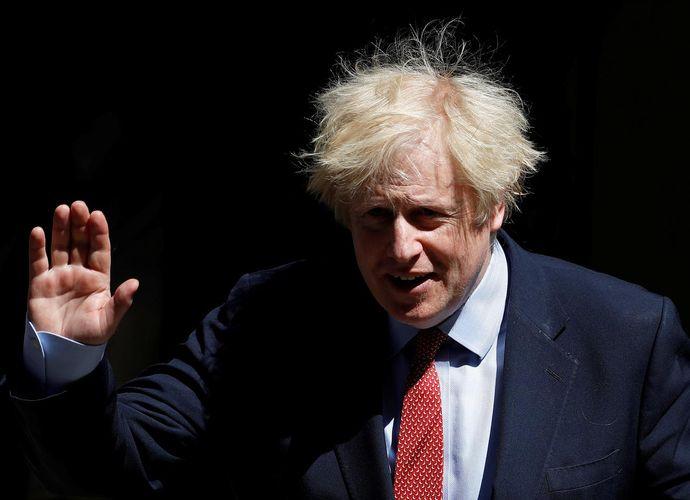 UK PM Johnson vows