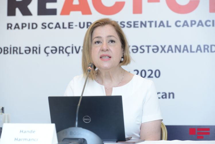 """Hande Harmanci: """"We have long way to go in battle against pandemic"""""""