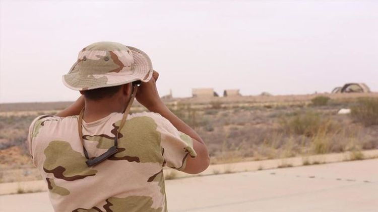 Libyan army continues advance against Haftar militia