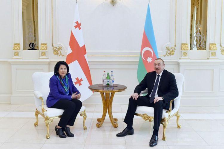Prezident İlham Əliyev Salome Zurabişvilini təbrik edib