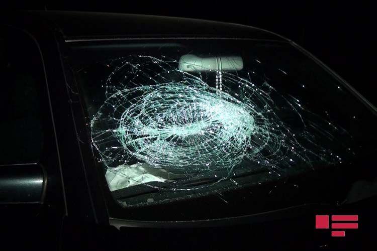 Tovuzda avtomobilin vurduğu piyada xəsarət alıb
