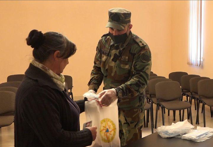 МЧС продолжает осуществление мероприятий по социальной поддержке – ВИДЕО