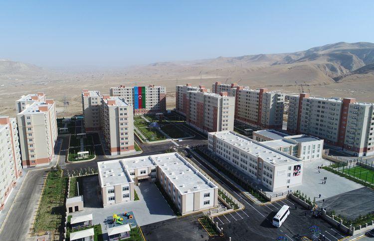 Президент Ильхам Алиев принял участие в открытии жилого комплекса «Гобу Парк-3» - ОБНОВЛЕНО