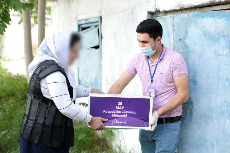 Azercell оказал продовольственную помощь семьям шехидов и инвалидов, а также малоимущим семьям, проживающим в регионах ®