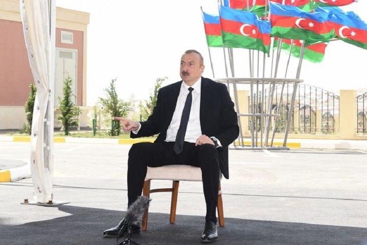 """Azərbaycan Prezidenti: """"Biz tarixi olduğu kimi yazmalıyıq və bilməliyik"""""""