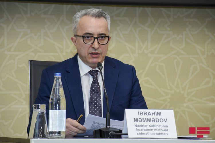 Ибрагим Мамедов: В Оперштабе возможно обсуждение вопроса предоставления пособия в размере 190 манатов