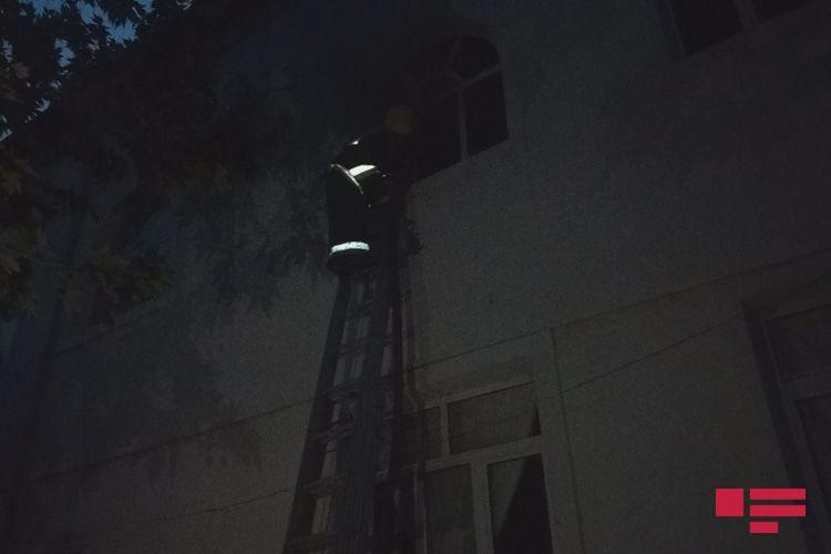 Ağdamda şadlıq evində baş verən yanğın söndürülüb - FOTO - YENİLƏNİB