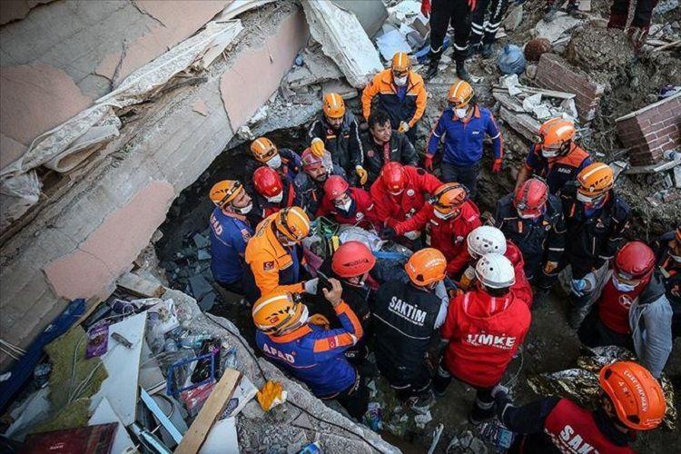 Число погибших в результате землетрясения в Измире достигло 62 - ОБНОВЛЕНО-8