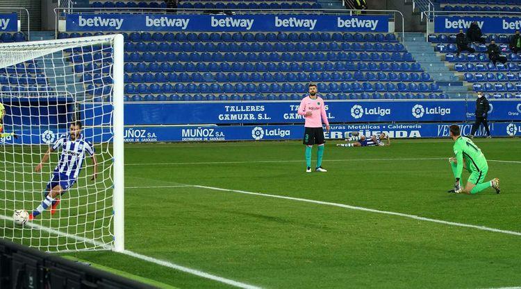 """""""Real"""" qalib gəlib, """"Barselona""""nın qələbəsiz oyun sayı 4-ə çatıb"""