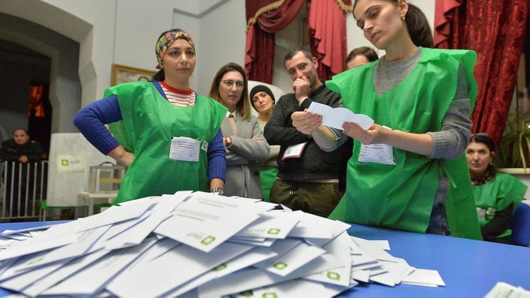 """Azerbaijani observers: """"Parliamentary elections in Georgia held free and fairly"""""""