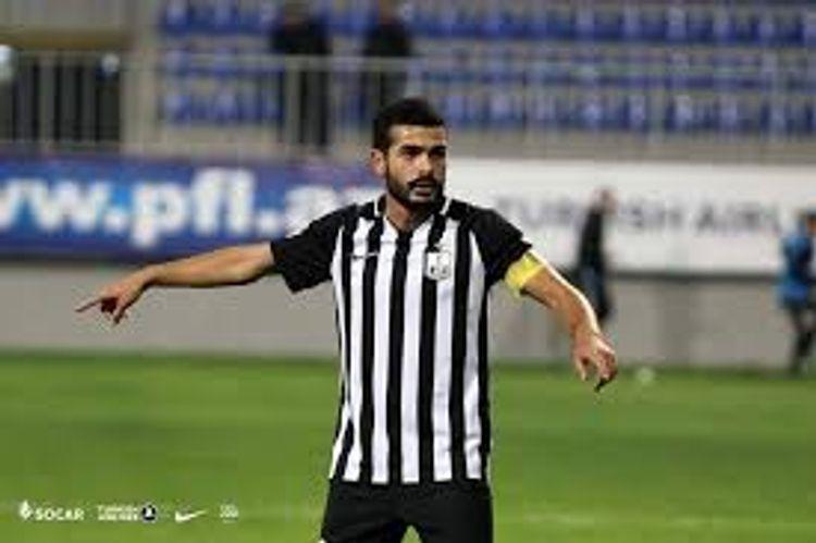 """""""Neftçi""""nin kapitanı 2 ildən sonra ehtiyatda qalıb"""
