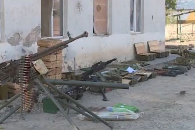 Azerbaijani MoD: Another war trophy was taken from the enemy in the Zangilan direction  - VIDEO