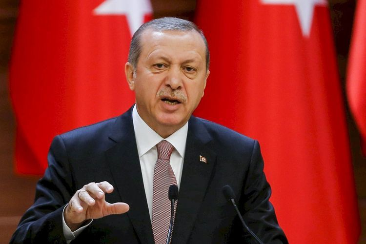"""Erdogan: """"Those who wish to possess Motherland should offer martyr"""""""
