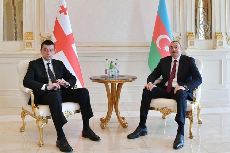 Президент Азербайджана позвонил премьер-министру Грузии