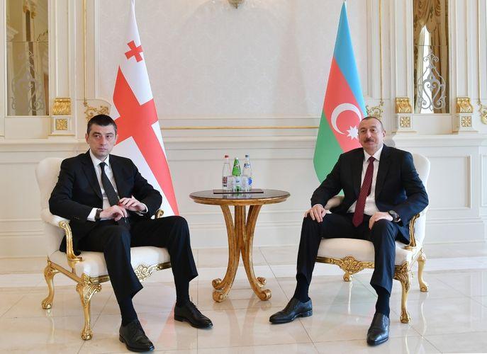 President Ilham Aliyev phoned Georgian Prime Minister Giorgi Gakharia
