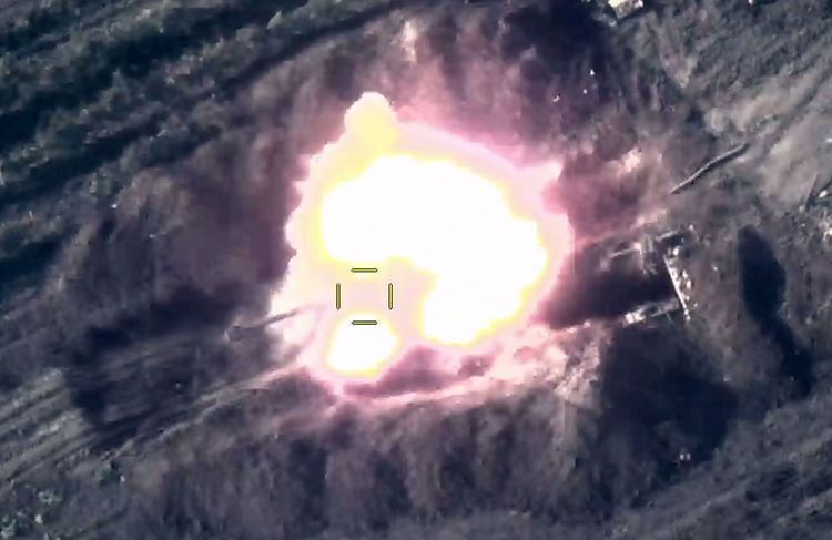 Enemy's two artillery batteries were destroyed - VIDEO
