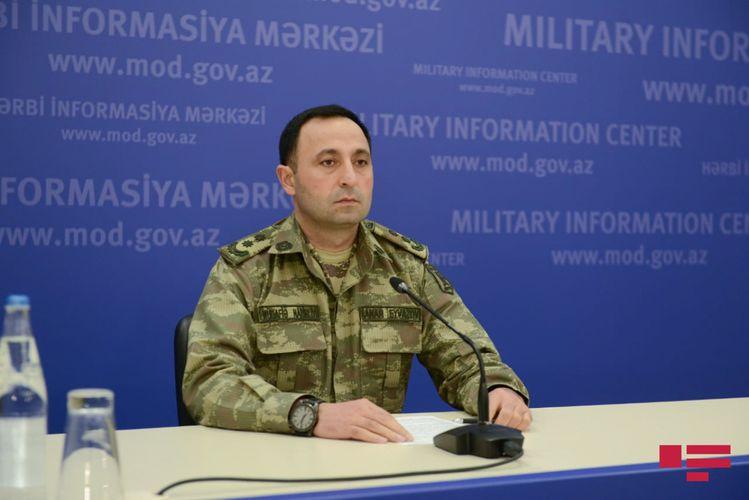 MN: Ordumuz düşmənin komanda məntəqələrini, döyüş texnikasını sıradan çıxararaq onu iflic vəziyyətinə gətirib çıxarıb