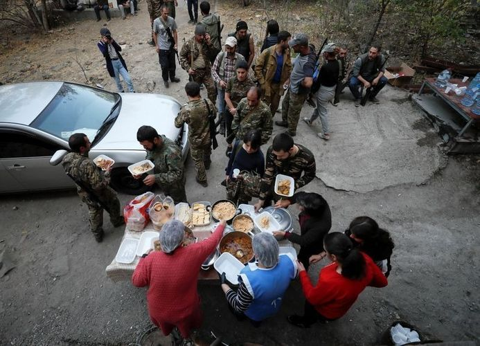 It was once again proved that citizens of other countries are fighting on the Armenian side