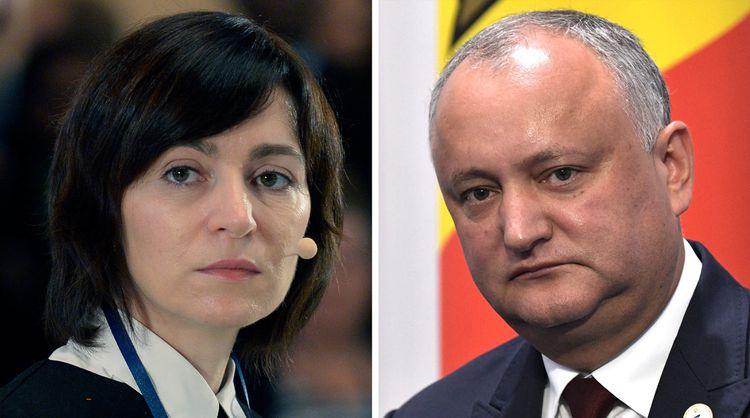 Санду обошла Додона на выборах президента Молдовы