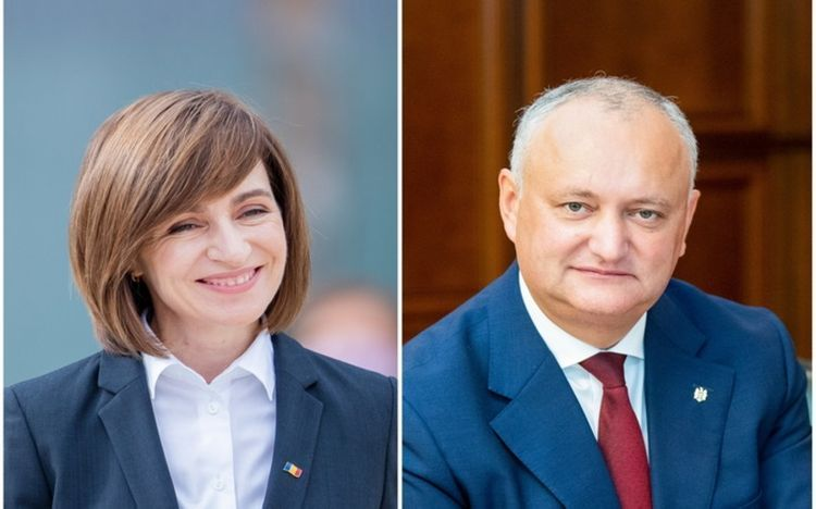 Moldova's Sandu leads with 35.52% of votes after 99% of ballots counted