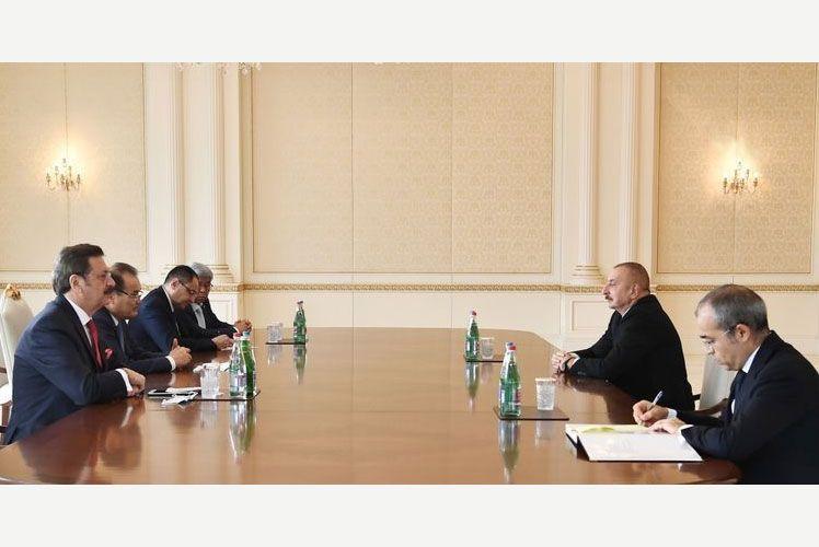 Azerbaijani President Ilham Aliyev receives Baghdad Amreyev, Mustafa Rifati, Adham Ikramov and Marat Sharshekeyev - UPDATED