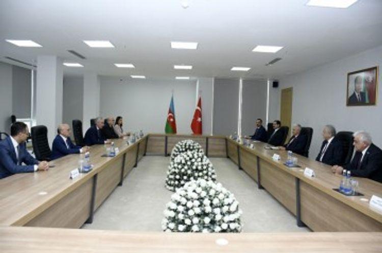 Али Ахмедов встретился с Бинали Йылдырымом