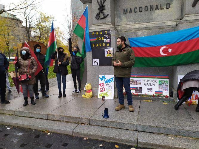 В Канаде прошла акция протеста против армянского террора