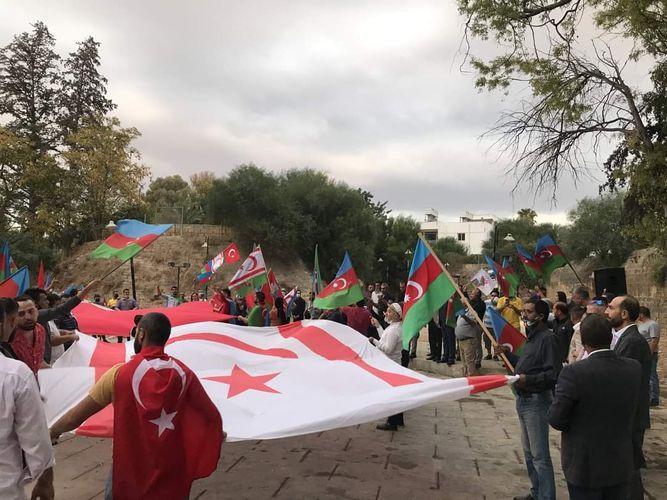 Rally against Armenian terrorism held in Northern Cyprus