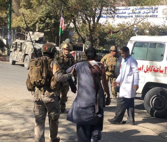 Attack on Kabul University in Afghanistan