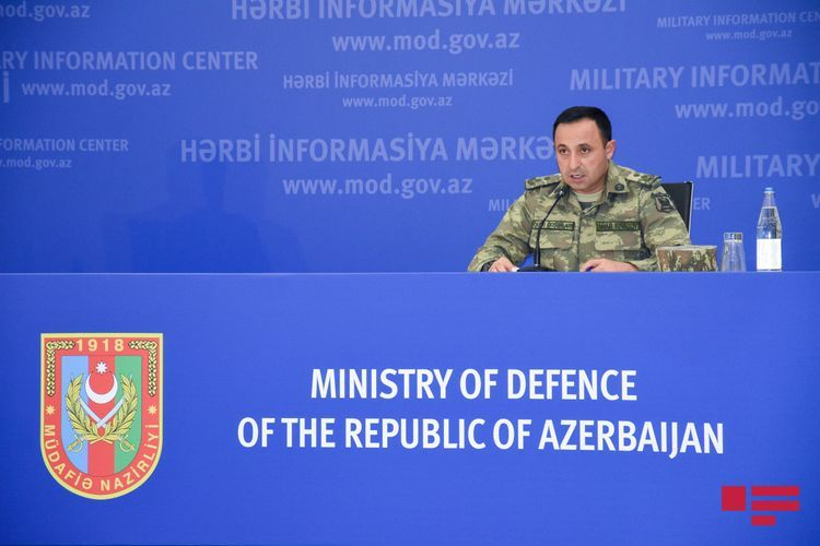 Azerbaijani MoD: Our army fully controls combat condition in land and air