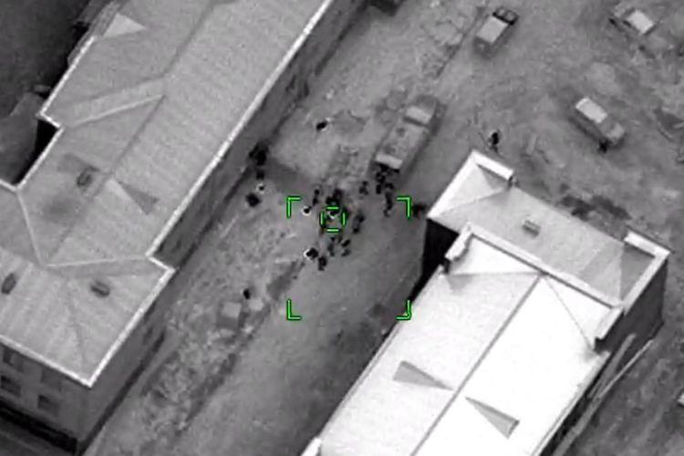 Уничтожена живая сила противника в направлении Гырмызы Базара - ВИДЕО