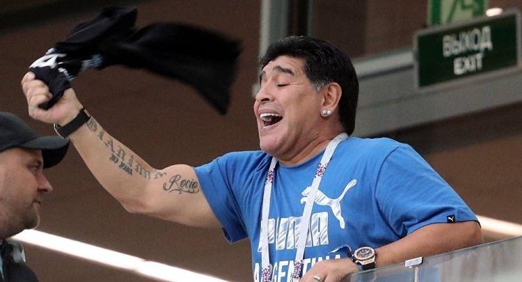 Марадона отправлен в больницу