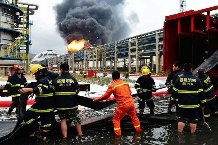 5 dead, 3 injured following fire at LNG terminal in south China