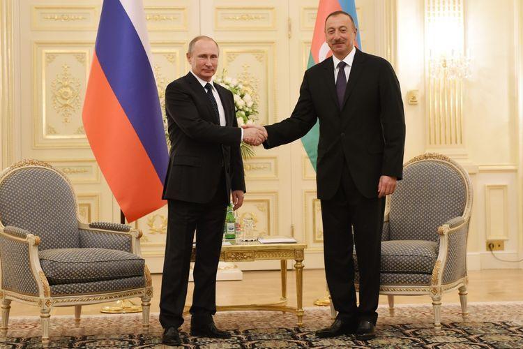 Phone conversation held between Azerbaijani and Russian Presidents